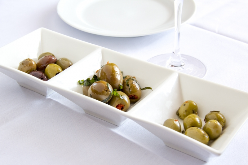olive plate