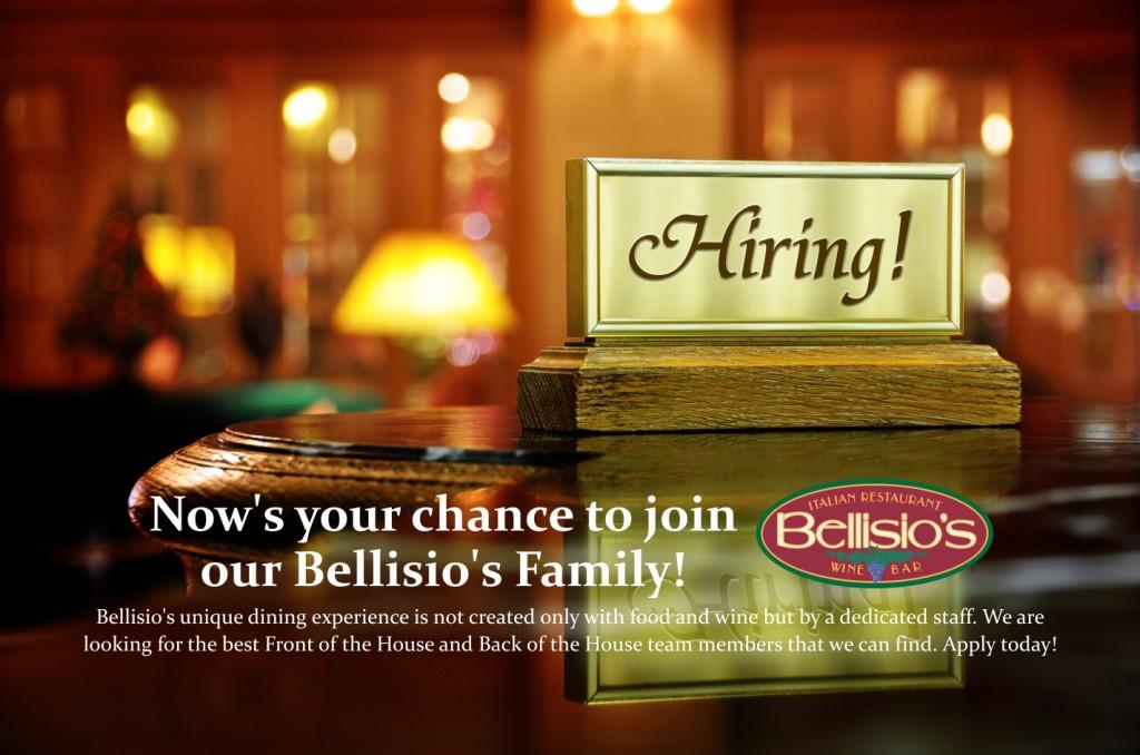bellisio hire